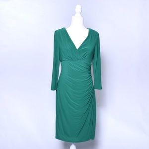 emerald green ralph lauren dress size 6